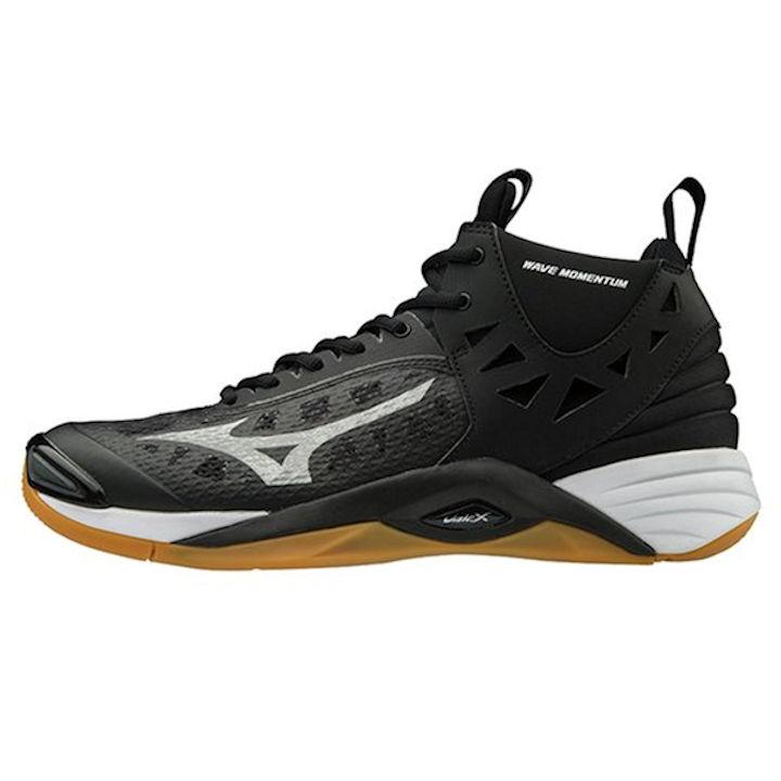 Mizuno Wave Momentum MID Men's Shoe (Black/Silver) (430262.9073)