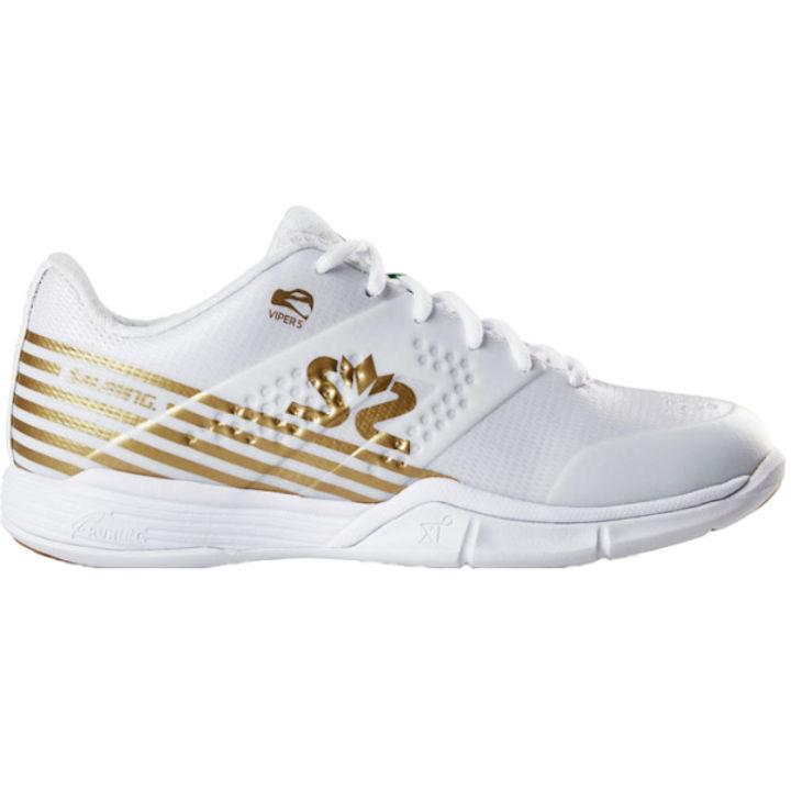 Salming Women's Viper 5 White/Gold (1239075-0722)