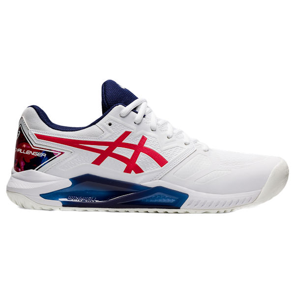 ASICS Gel-Challenger 13 Men's OUTDOOR Shoe (White/Classic Red) (1041A288.110)