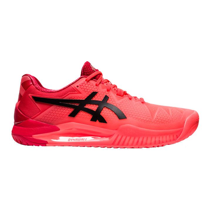 ASICS Gel-Resolution 8 L.E. Men's OUTDOOR Shoe (Sunrise Red/Eclipse Black) (1041A185.701)