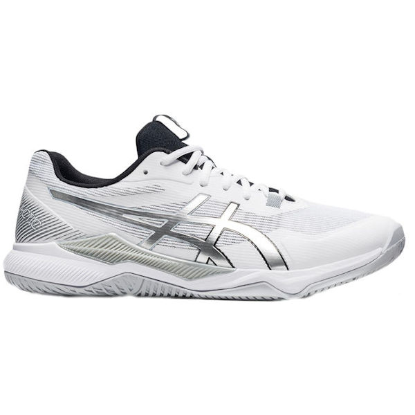 ASICS Gel-Tactic Men's Indoor Shoe (White/Pure Silver) (1071A065.100)