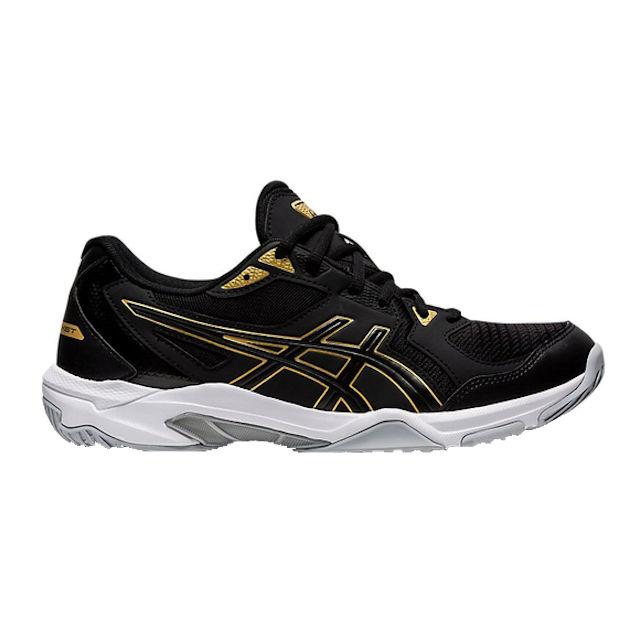 ASICS Gel-Rocket 10 Men's Indoor Shoe (Black/Pure Gold) (1071A054.002)
