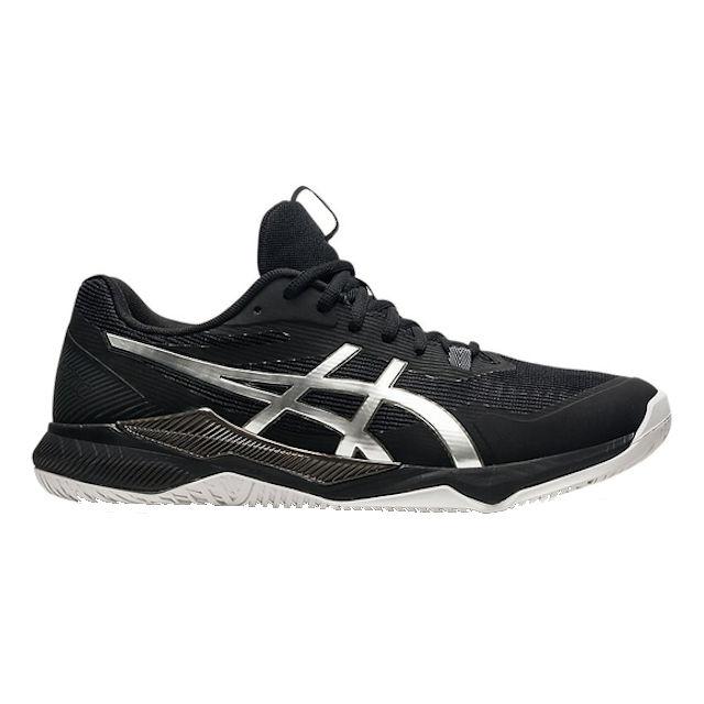 ASICS Gel-Tactic Men's Indoor Shoe (Black/Pure Silver) (1071A065.003)