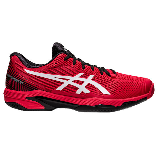 ASICS Solution Speed FF 2 Men's OUTDOOR Shoe (Electric Red/White) (1041A182.601)