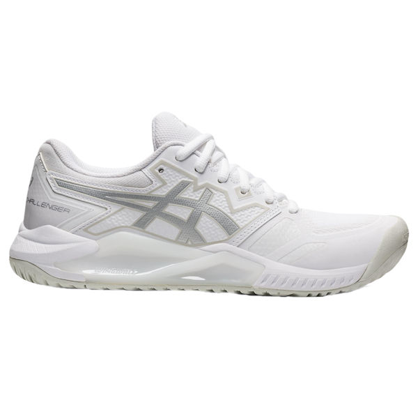 ASICS Gel-Challenger 13 Women's OUTDOOR Shoe (White/Pure Silver) (1042A164.100)