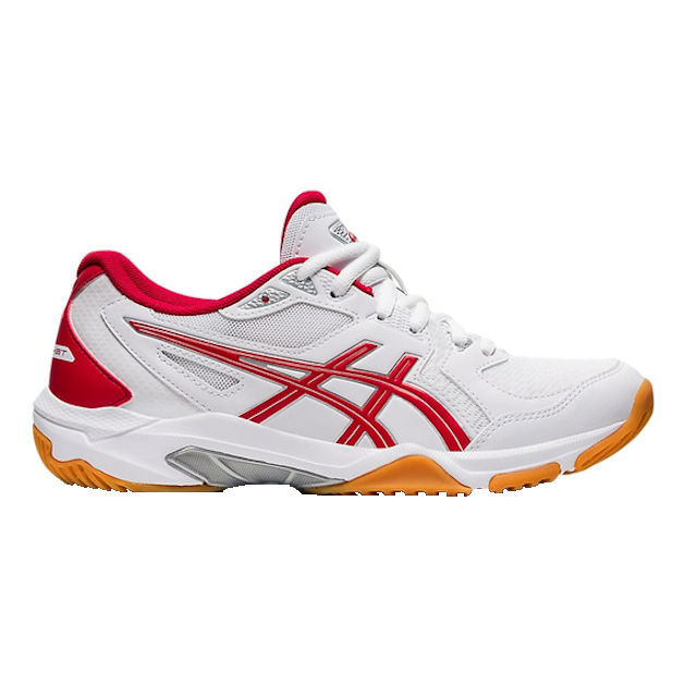 ASICS Gel-Rocket 10 Women's Indoor Shoe (White/Classic Red) (1072A056.100)