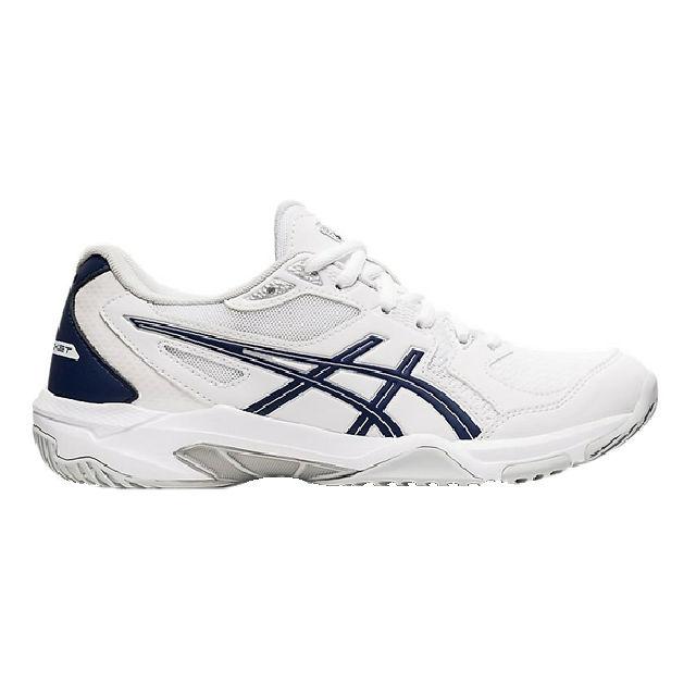ASICS Gel-Rocket 10 Women's Indoor Shoe (White/Peacoat) (1072A056.101)