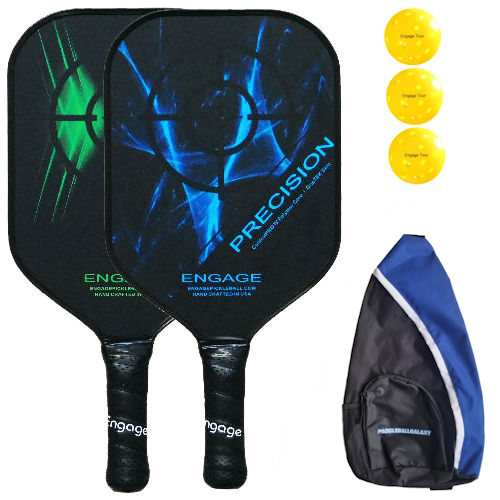 Engage Precision Pickleball Paddle Bundle