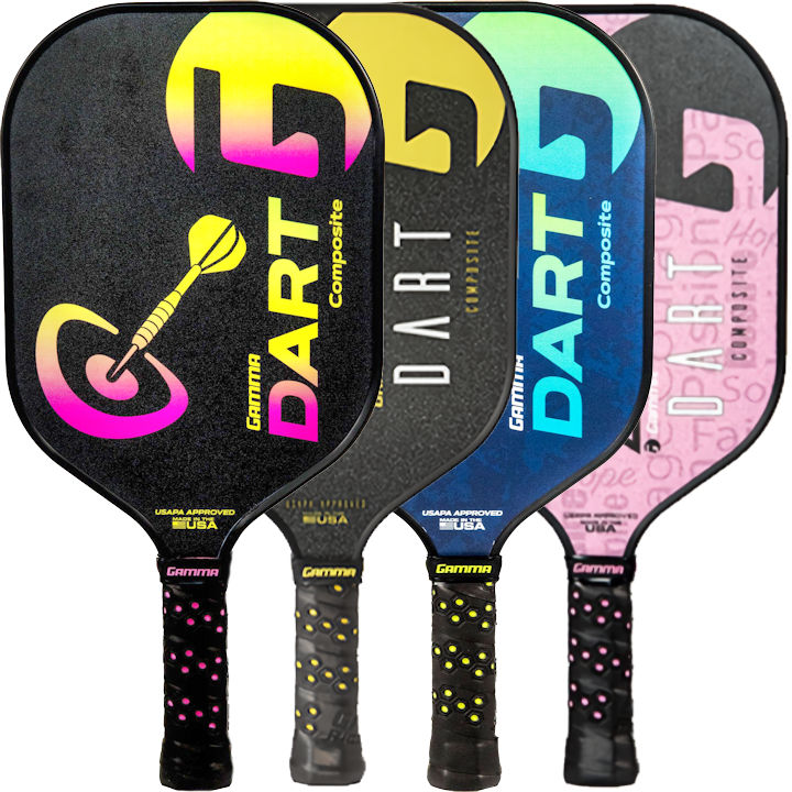 Gamma Dart Composite Pickleball Paddle
