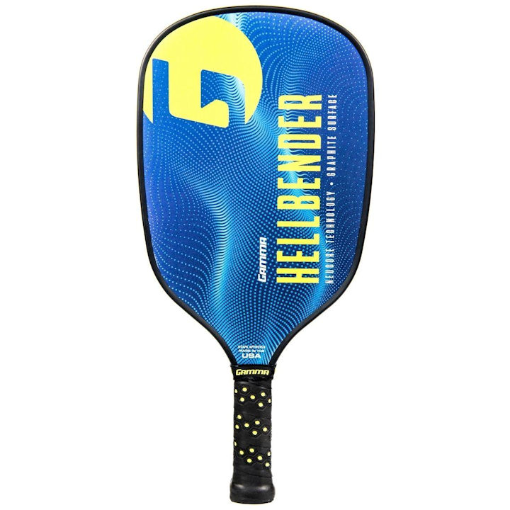 Gamma Hellbender NeuCore (Blue/Yellow) Pickleball Paddle