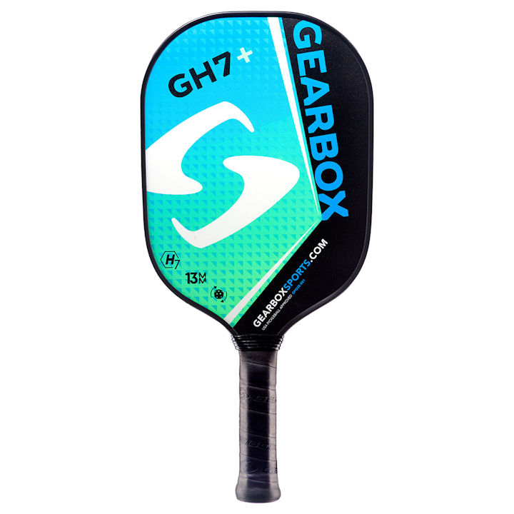 Gearbox GH7 Plus Blue/Green Pickleball Paddle