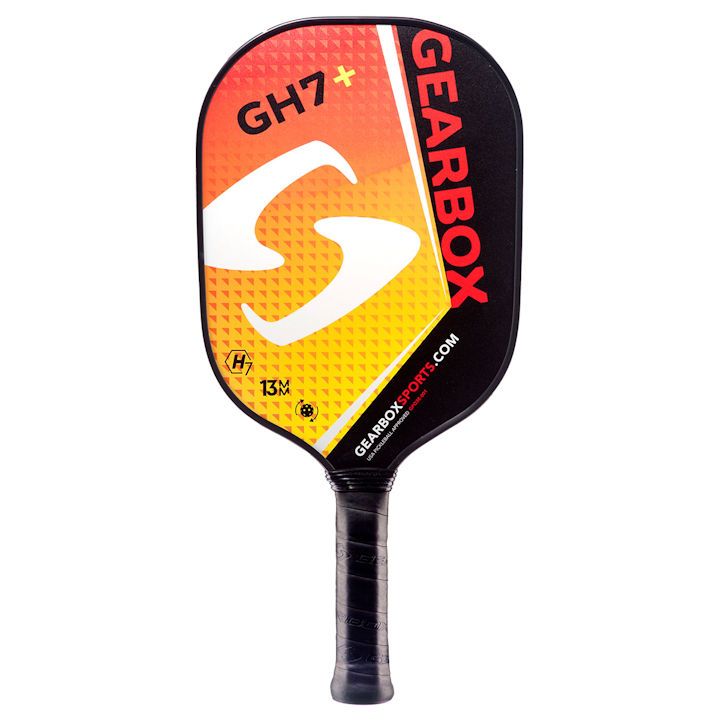 Gearbox GH7 Plus Red/Yellow Pickleball Paddle