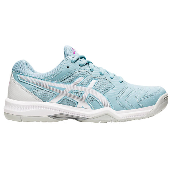 ASICS Gel-Dedicate 6 Women's OUTDOOR Shoe (Smoke Blue/ White) (1042A067.401)