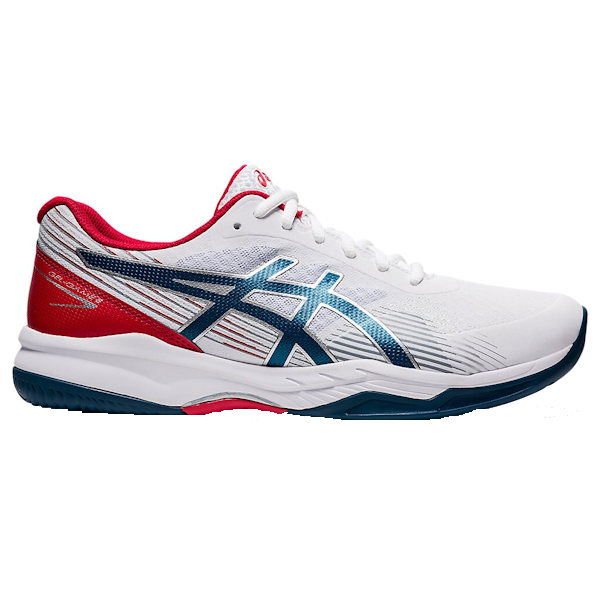 ASICS Gel-Game 8 Men's OUTDOOR Shoes (White/Mako Blue) (1041A192.102)