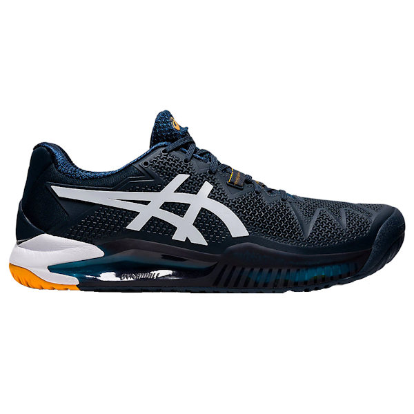 ASICS Gel-Resolution 8 Men's OUTDOOR Shoe (French Blue/Amber) (1041A079.403)