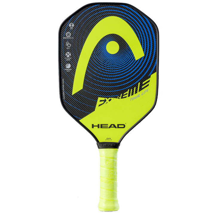Head Extreme Tour Lite Yellow Pickleball Paddle (226541)