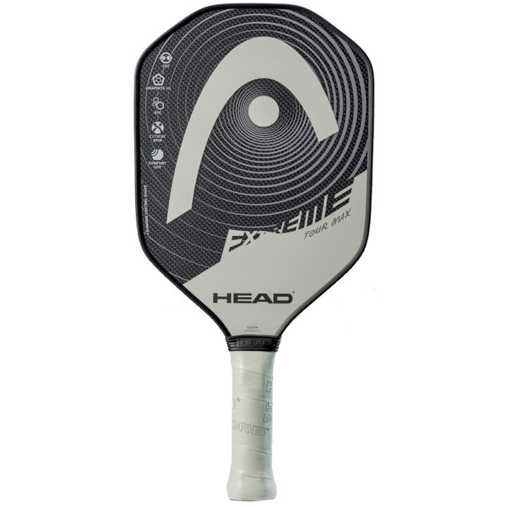 Head Extreme Tour Max Silver Pickleball Paddle (226511)