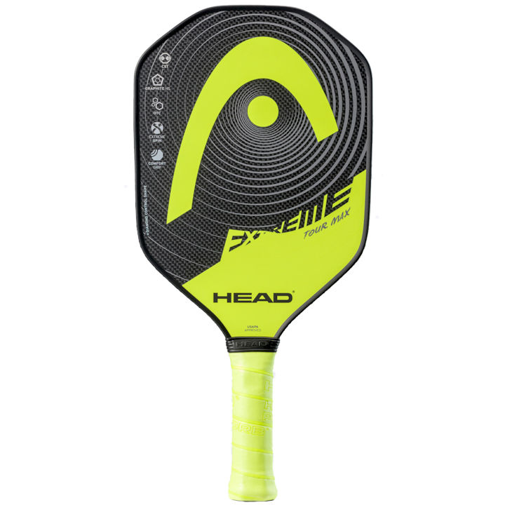 Head Extreme Tour Max Yellow Pickleball Paddle (226501)