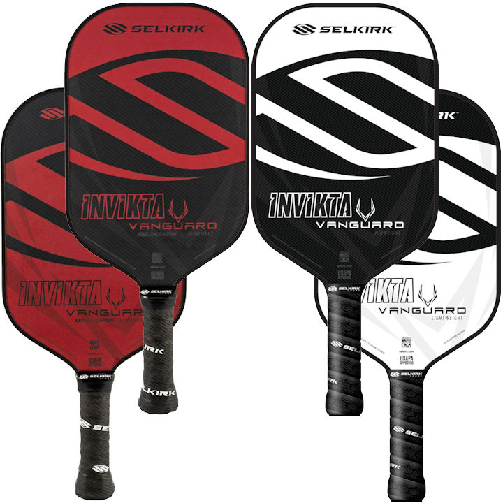 Selkirk Vanguard Hybrid Invikta Pickleball Paddle