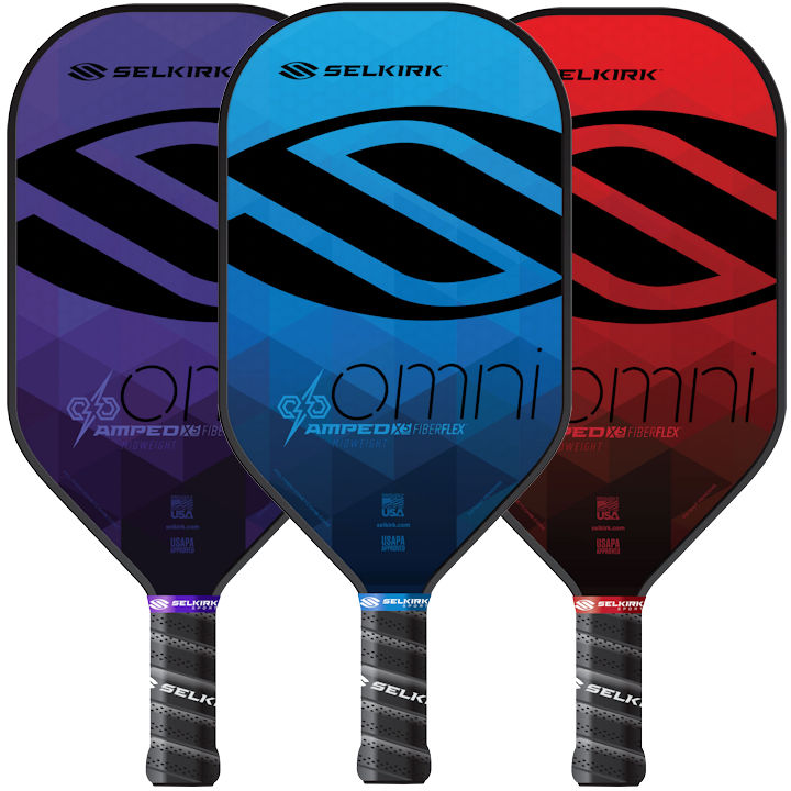 Selkirk AMPED Omni Midweight Pickleball Paddle