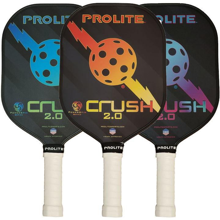 PROLITE Crush Powerspin 2.0 Pickleball Paddle