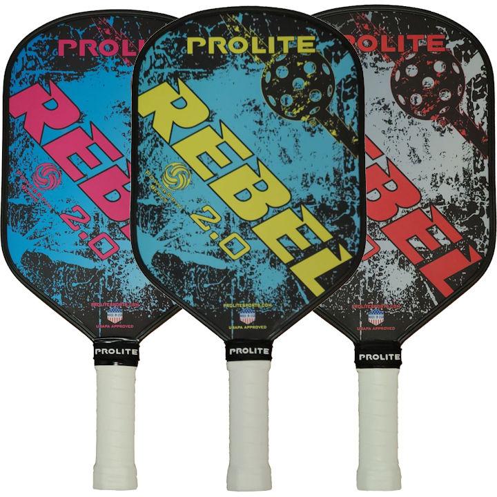 PROLITE Rebel Powerspin 2.0 Pickleball Paddle