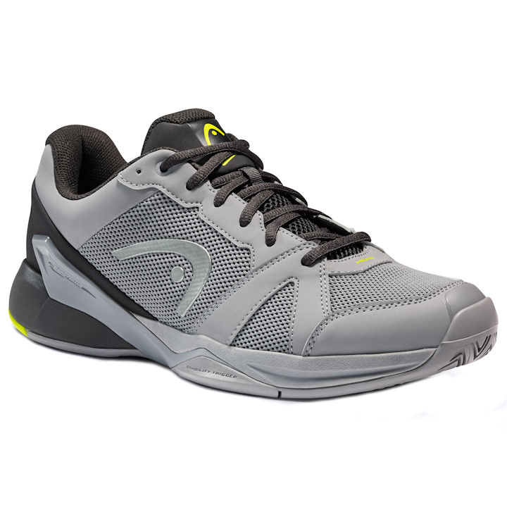 Head Revolt Evo Men's Grey/Black Shoes (273501)