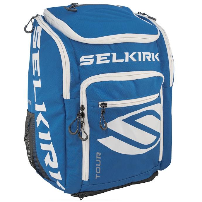 Selkirk Tour Backpack Blue Pickleball Bag