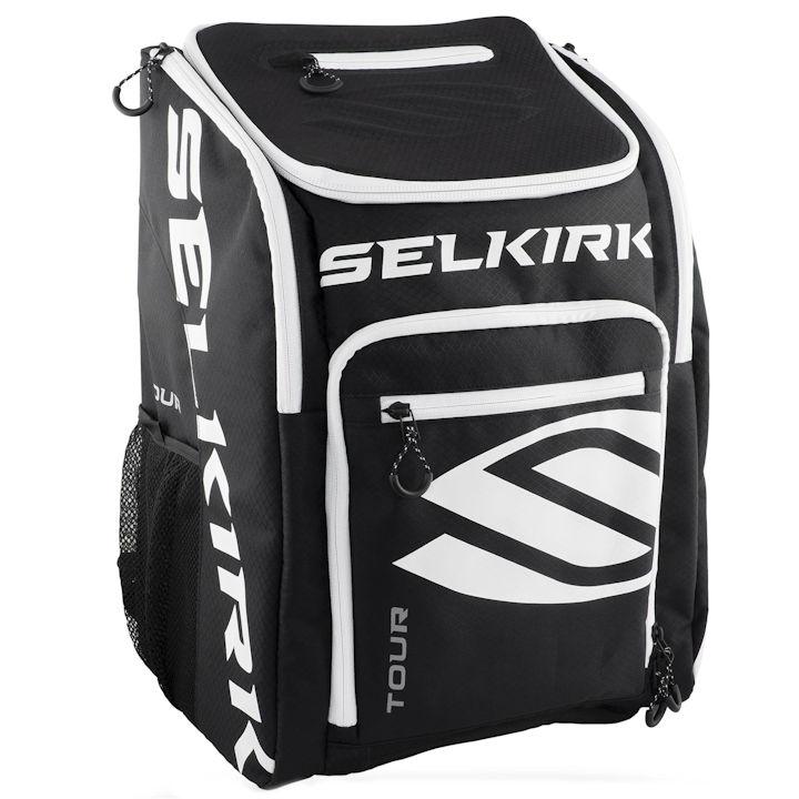 Selkirk Black Tour Backpack Pickleball Bag