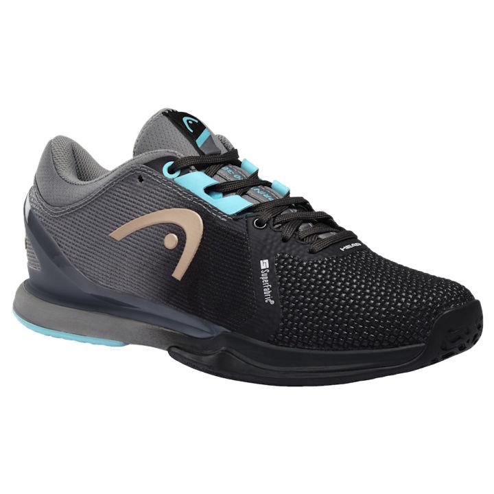 Head Sprint Pro 3.0 Women's Super Fabric Shoes BKBL (274960)