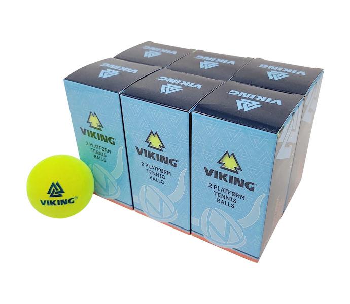 Viking Extra Duty Platform Tennis Ball (6 Sleeves, 12 Balls)