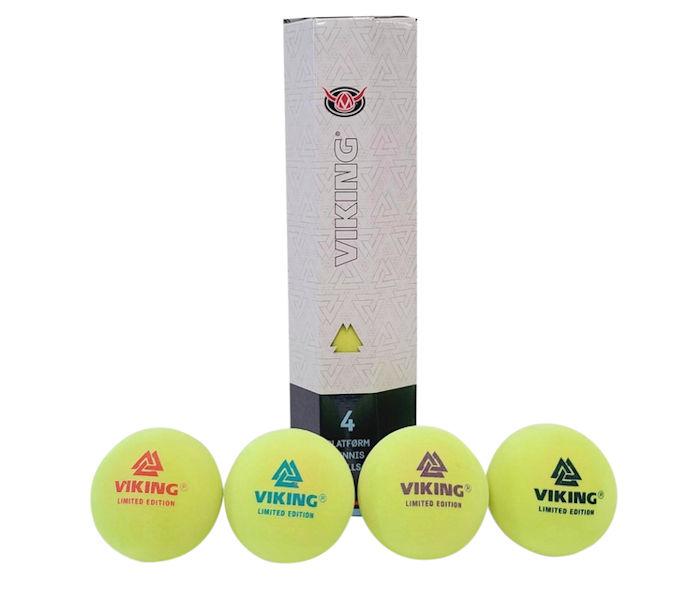 Viking Limited Edition Platform Tennis Balls (1 Sleeve, 4 Balls)