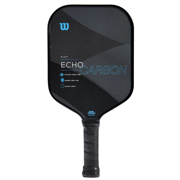 Wilson Echo Carbon Pickleball Paddle (WR065111)