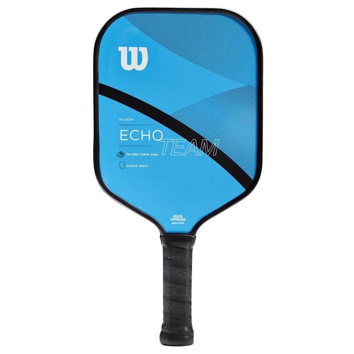 Wilson Echo Team Blue/Black Pickleball Paddle (WR065211)
