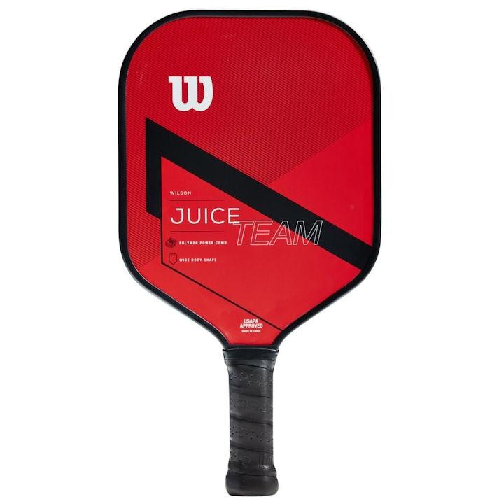 Wilson Juice Team Red/Black Pickleball Paddle (WR065011)
