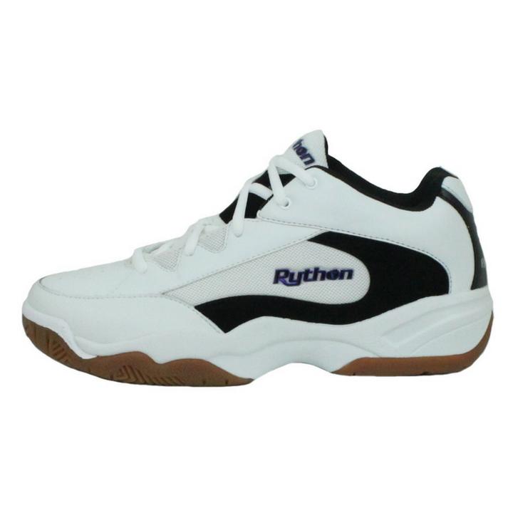 Python Men's Deluxe WIDE (EE WIDTH) Indoor White Shoes