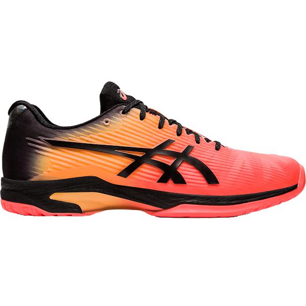 ASICS Men's Solution Speed FF L.E. OUTDOOR Shoe (Flash Coral/Black) (1041A152.700)