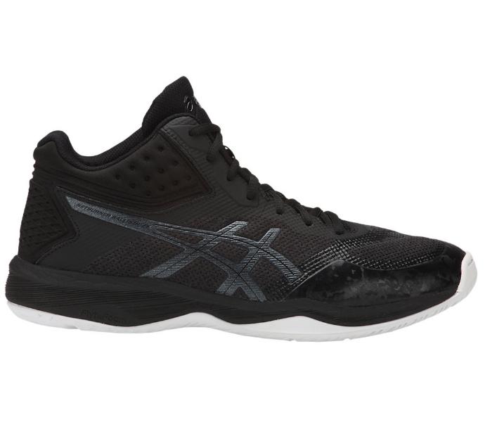 ASICS Men's Netburner Ballistic FF MT (MID) Black/Black Shoes (1051A003.001)