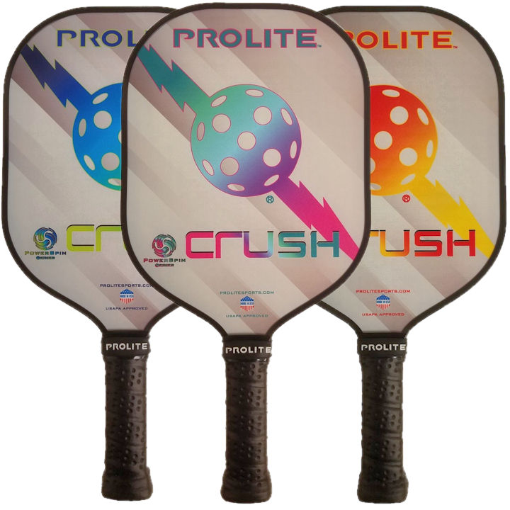 PROLITE Crush Powerspin Pickleball Paddle