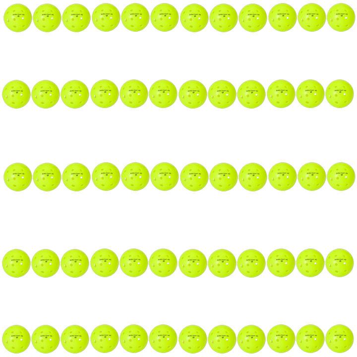Dura Fast 40 Outdoor Neon Green Pickleballs 5 Dozen