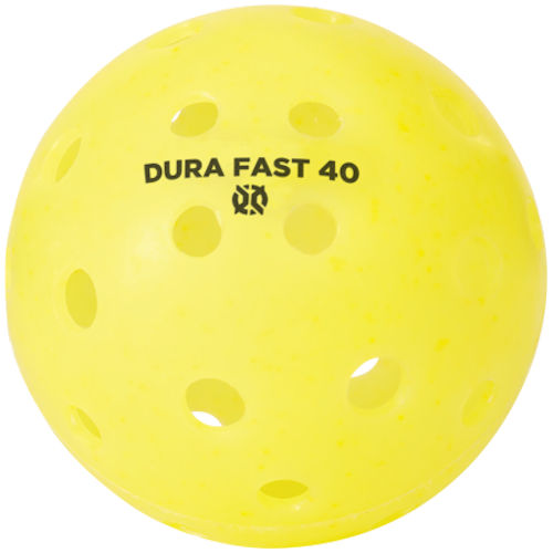 Dura Fast 40 Outdoor Yellow Pickleball
