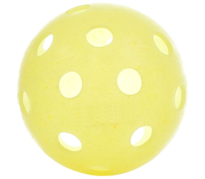 Dura Fast 40 Large Hole Yellow Indoor Pickleball