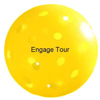 Engage Tour Yellow Pickleball