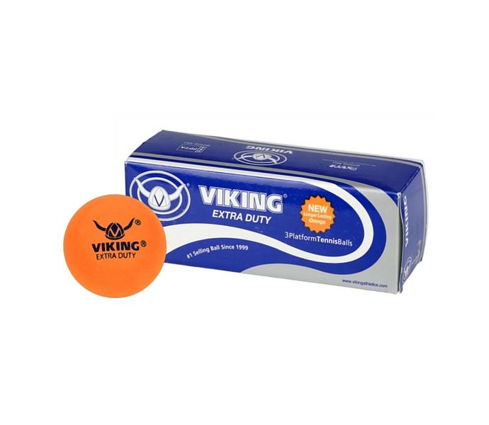 Viking Extra Duty Orange Platform Tennis Balls Sleeve
