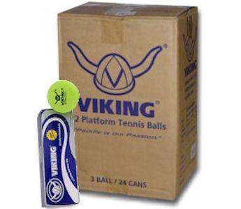 Viking Yellow Extra Duty Platform Tennis Ball CASE