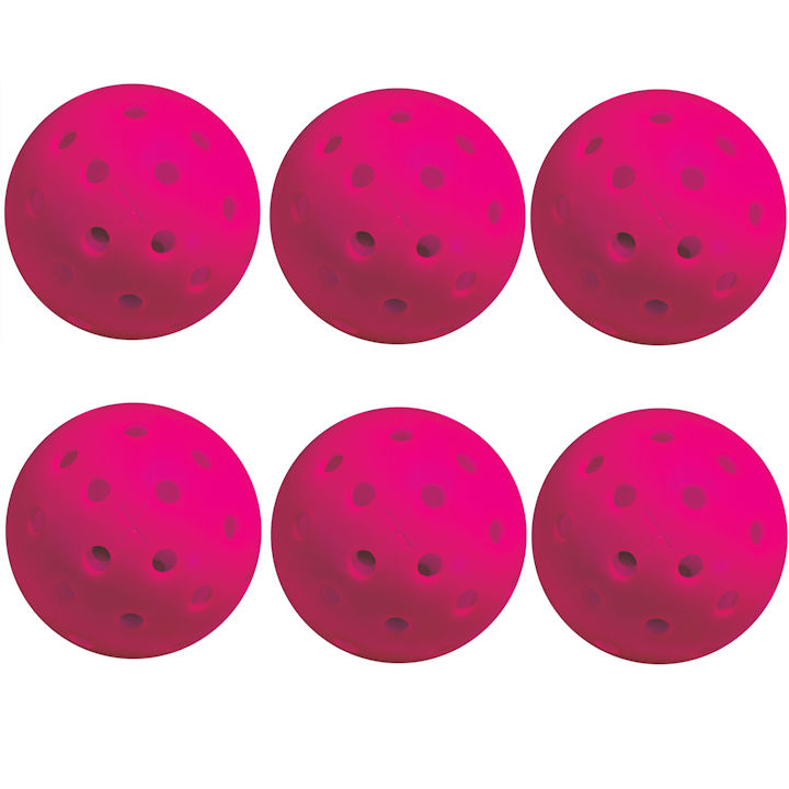 Franklin X-40 Outdoor Pink Pickleball 6 Pack