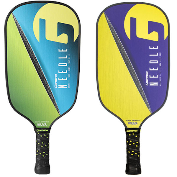 Gamma Needle Elongated Pickleball Paddle