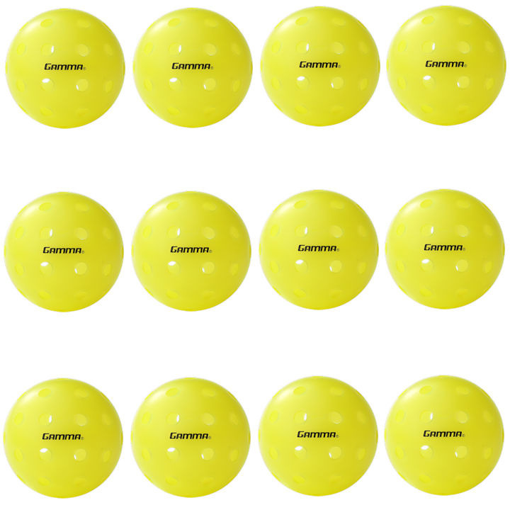 Gamma Photon Outdoor Pickleball 12 Pack