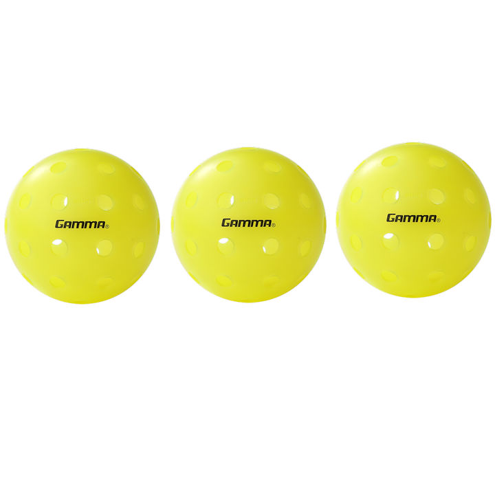 Gamma Photon Outdoor Pickleball 3 Pack