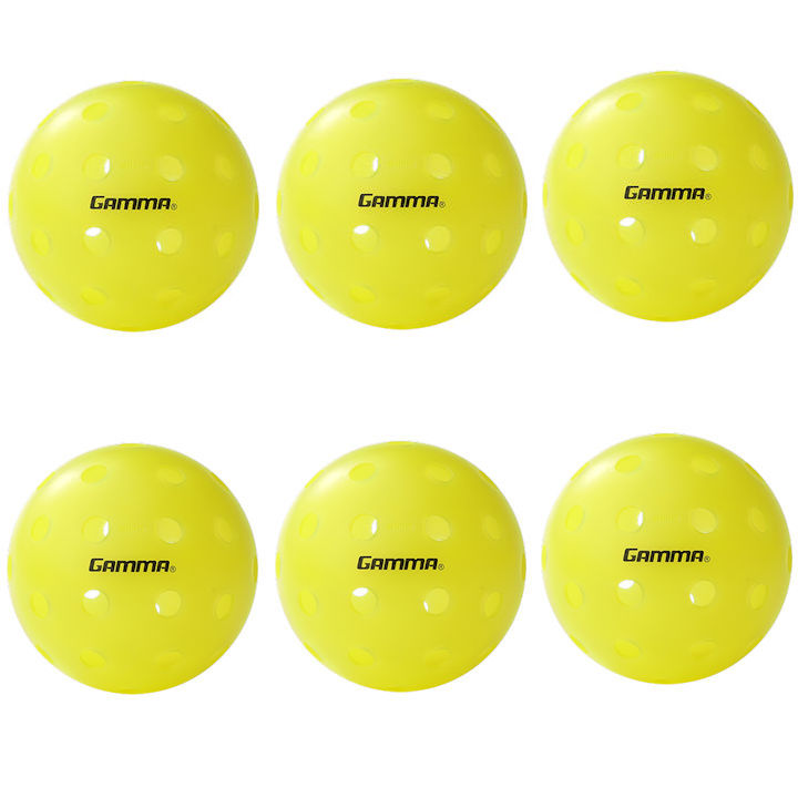 Gamma Photon Outdoor Pickleball 6 Pack